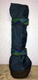 Premium Beardie Boots - dunkelblau/Gummi in Weboptik - atmungsaktiv! Für Rüden